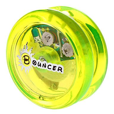 Bouncer Pom Bearing Yoyo Toy With Led