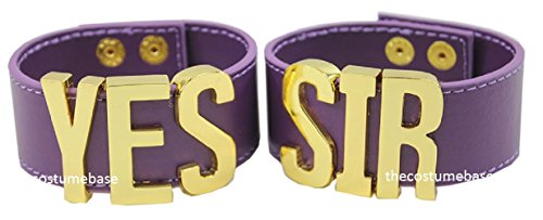 Harley Quinn A Pair of YES SIR wristbands