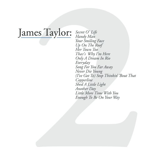 James Taylor - James Taylor : Greatest Hits, Vol. 2 - Zortam Music