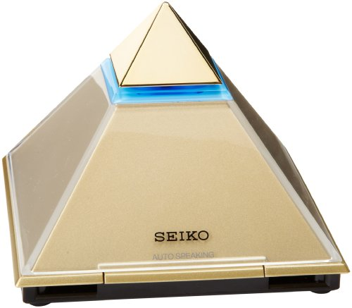 Seiko QHL054GLH Desk and Table Talking Alarm Clock