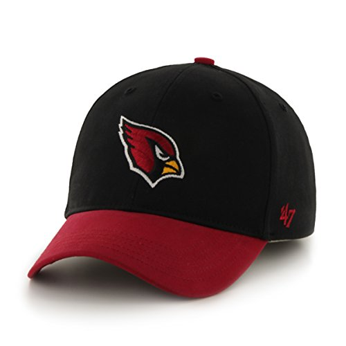 NFL Arizona Cardinals Kids Short Stack '47 MVP Adjustable Hat, Toddler, Black (Nfl Gear For Kids compare prices)