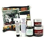 Kiehl's The Abyssine Anti Aging Set: Cream+ + Toner + Hand Salve + Eye Cream + Lip Balm + Bag - 5pcs+1bag