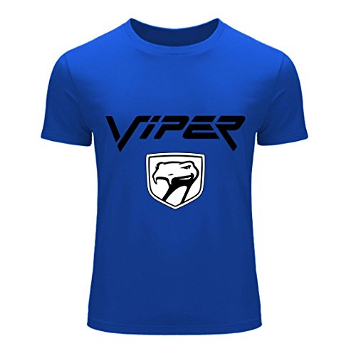 Men's Dodge Viper Logo Blue T-Shirt R6G2OB