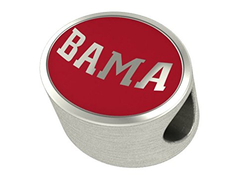 Alabama Crimson Tide Enamel Bead Charm
