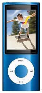 "Apple iPod Nano (5ème Génération) Ecran 2,2 ""  Caméra  16 Go Bleu"