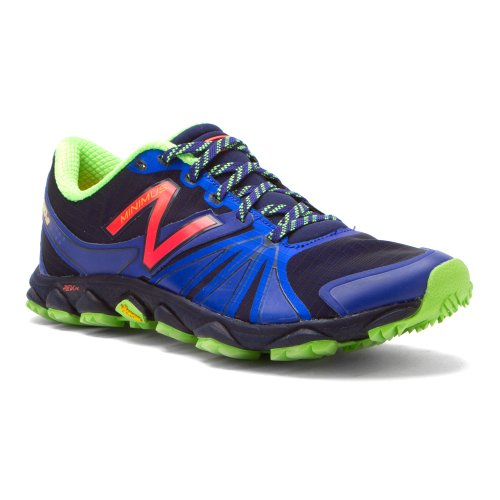 New Balance New Balance Women's WT1010 Minimus Trail Running Shoe,Blue/Green,7.5 D US