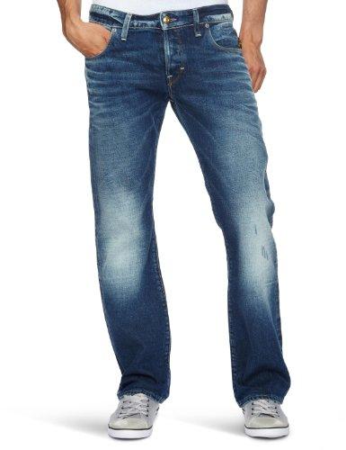 G-Star Basics Heller Low Boot Cut Men's Jeans Medium Aged W36 INxL32 IN