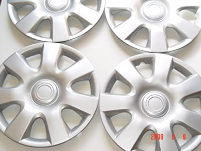 "15"" Set Of 4 Hubcaps 2002 Toyota Camry Wheel Covers Design Are Universal Hub Caps Fit Most 15 Inch Wheels"