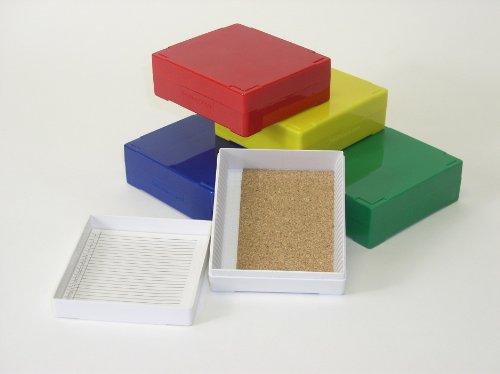 Premier® Slide Box, 25 Slides, Blue