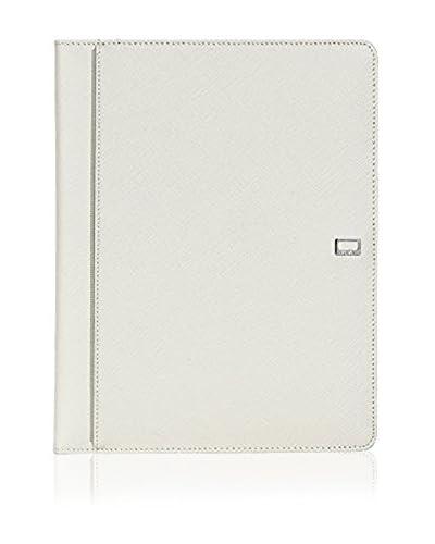 Nava Design Funda iPad 2/3 Saffiano Icon Blanco Roto