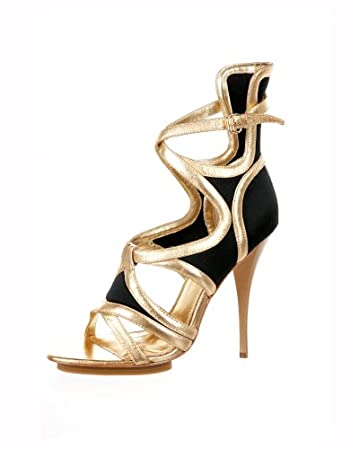 bebe Alyssa High Heel Cutout Sandal from bebe.com