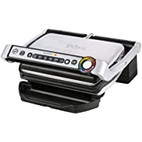 T-fal GC702D53 1800-Watt OptiGrill Stainless Steel Indoor Electric Grill (Silver)