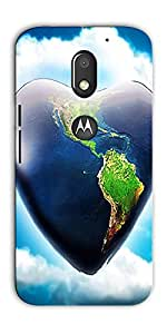 DigiPrints Designer Back Cover for Motorola Moto E3 Power-Multicolor