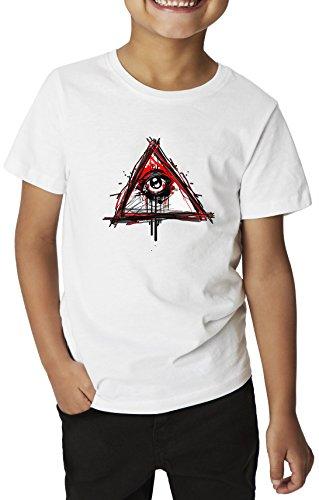 Eye-of-Providence-Illuminati-Conspiracy-Series-Jungle-Tribe-Production-100-Cotton-Kids-T-Shirt