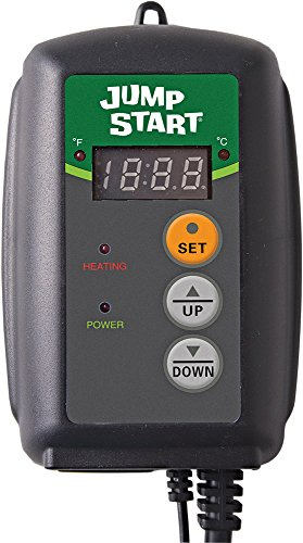 Jump Start MTPRTC, Digital ETL-Certified Heat Mat Thermostat for Seed Germination, Reptiles and Brewing (Digital Heat Mat Thermostat compare prices)