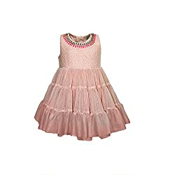 A Little Fable Blush Net Layer Dress 3to4yr