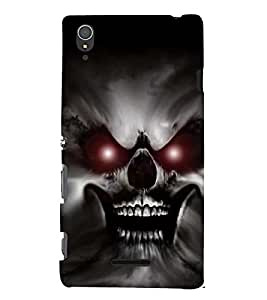 EPICCASE scaring ghost Mobile Back Case Cover For Sony Xperia T3 (Designer Case)
