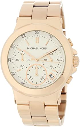Michael Kors Watches Michael Kors Ladies Rose Gold Chronograph (Rose Gold)