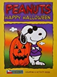 img - for Peanuts Halloween Coloring and Activity Book (easy tear-out pages) book / textbook / text book