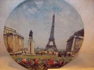 La Tour Eiffel Collector Plate