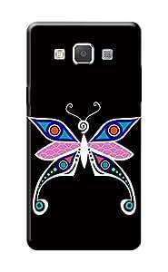 Samsung Galaxy A5 Back Cover Kanvas Cases Premium Quality Designer 3D Printed Lightweight Slim Matte Finish Hard Case for Samsung Galaxy A5