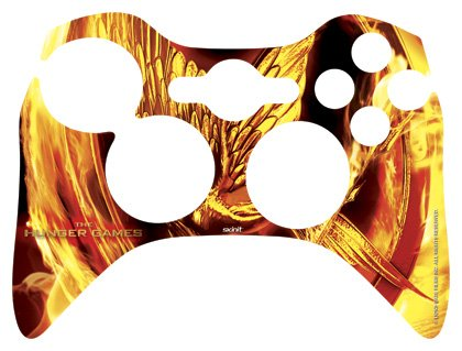 Skinit The Hunger Games Mockingjay Vinyl Skin for 1 Microsoft Xbox 360 Wireless Controller