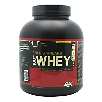 Optimum Nutrition 100% Whey Coffee 5 lb (2,273 g)