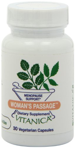 Vitanica, Woman'S Passage Vegetarian Capsules, 30-Count