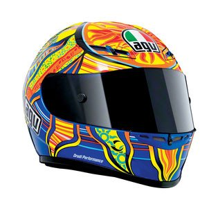 AGV GP-Tech Motorcycle Helmet - Five Continents Small