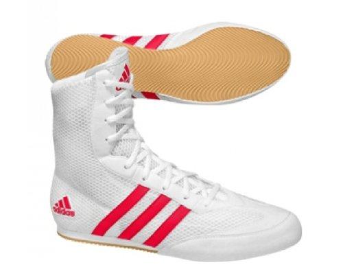 chaussure de boxe adidas rouge