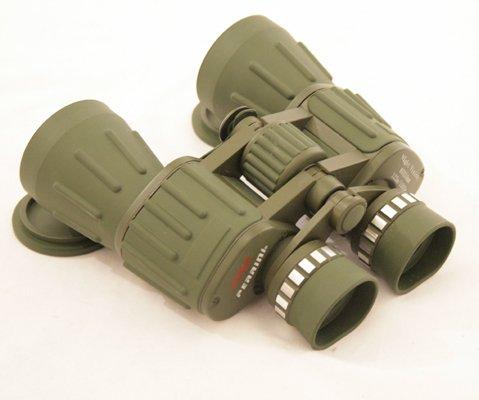 60X50 Perrini Green Army Binoculars With Bag Good Quality