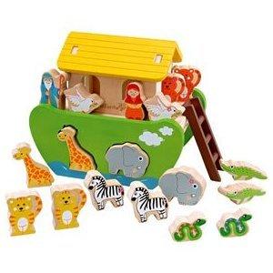 Maxim Toys Noah's ARK Ever Earth Eco Friendly Wooden Preschool Toy
