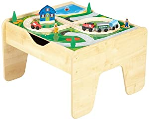 KidKraft Lego Compatible 2 in 1 Activity Table by KIDKRAFT (DropShip)