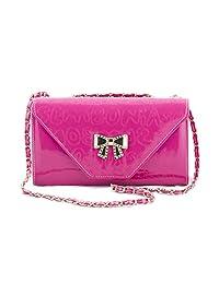 Voaka Women's Pink Bow Sling Bag