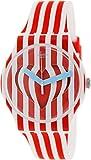 Swatch SUOZ168 Sweet Valentine White Red Analog Dial Silicone Women Watch NEW