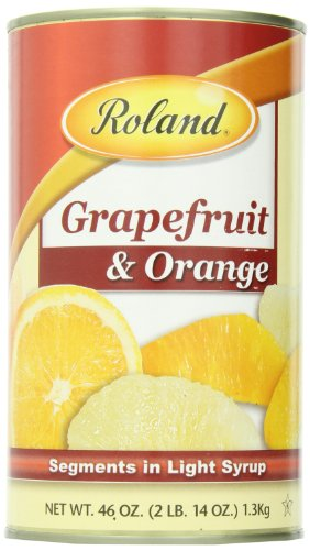 Roland Grapefruit and Orange Segments in Light Syrup,