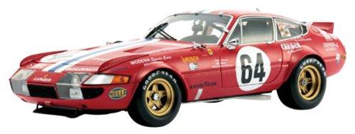 京商オリジナル 1/18 フェラーリ 365GTB/4 レーシング (デイトナ24h 1977 ナイトver./No.64)
