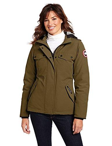 Canada gooses Women's Burnett Parka Coat Size XL (Burnett Canada Goose compare prices)