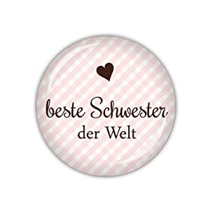 lijelove taschenspiegel 04 01oa beste schwester der welt. Black Bedroom Furniture Sets. Home Design Ideas