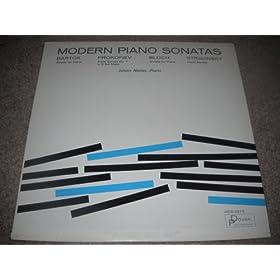 Modern Piano Sonatas: Bartok, Prokofiev, Bloch, Stravinsky - Istvan Nadas, Piano