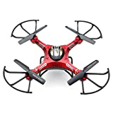 JJRC H8D 6-Axis 2.4Ghz Gyro RTF RC Quadcopter Helicopter Drone with 5.8G 2MP HD Camera + Transmitter FPV Monitor Real Time Transport Video Headless Mode, Comes with 2G SD Card
