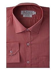 Arihant Men's Regular Fit Poly Cotton Plain Shirt (AR72980144)