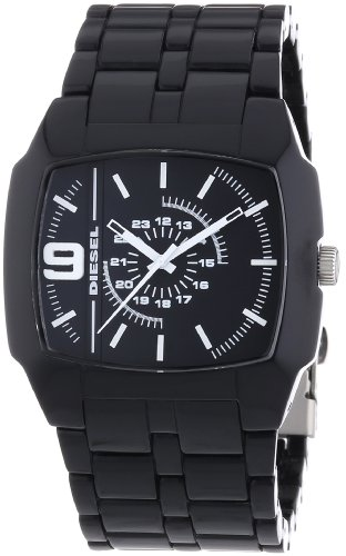 Diesel Herren-Armbanduhr TROJAN Analog Quarz Plastik DZ1549