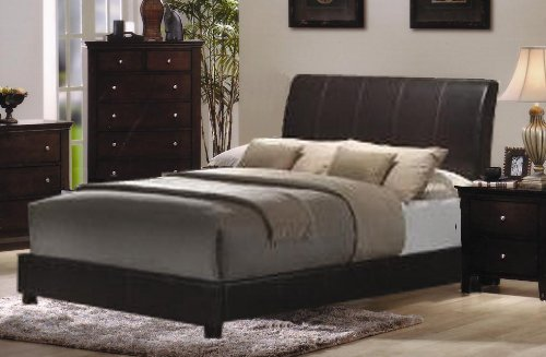 Beds With Leather Headboards 5143 front
