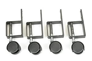 MSI SS-CSS Sturdy-Step Spring-Loaded Casters Set (4 wheel set)