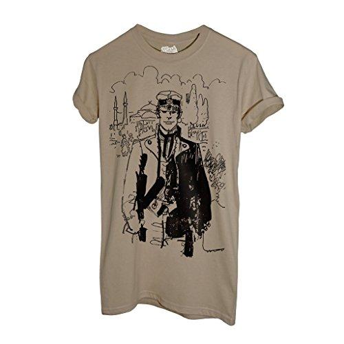 t-shirt-corto-maltese-schizzo-disegno-cartoon-by-mush-dress-your-style-uomo-l-sand