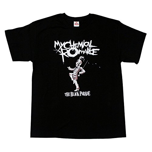 wtfcute Alstyle Men's My Chemical Romance The Black Parade T-Shirt?Medium?