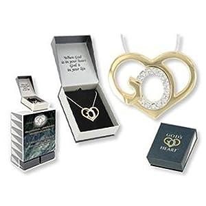 God's Heart Crystal Necklace