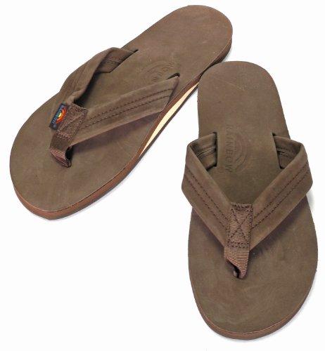 Rainbow Sandals Sandal (Black Forest Brown M)