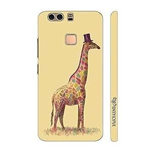 Enthopia Designer Hardshell Case Mr.Giraffe Back Cover for Huawei P9 Plus